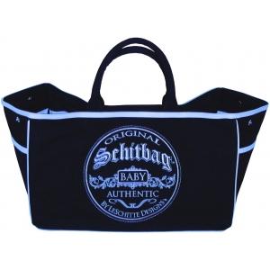 "Premium Diaper/Utility Schitbag™ in Boy-Blue ― ""World's Greatest Diaper Bag"""